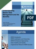 William Mcknight - Master Data Management