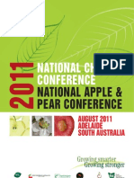 National Conference Program (Cherry _Apple & Pear)