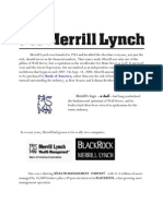 Merrill Lynch Was Founded in 1914 and Heralded the Idea That Everyone
