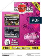 Frederick County Report, February 10 - 23, 2012