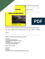 Land Evaluation
