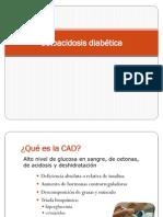 Cetoacidosis diabética clinica integral
