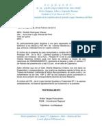 SOLICITO AUTORIZACIÓN HERMANAMIENTO LIF.
