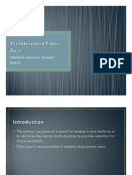 Prefabricated Fiber Post