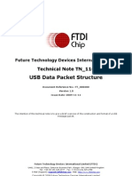 TN 116 USB Data Structure