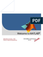 Welcome to MATLAB