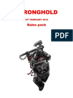 Stronghold Rules Pack