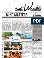 WHM Weekly Newsletter -  29 January 2012