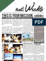 WHM Weekly Newsletter -  5 February 2012