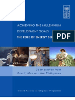Achievemdg-role of Energy