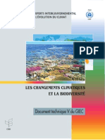 Climate Change and Biodiversity - French