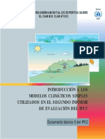 An Introduction to Simple Climate Models Used in the IPCC Second Assessment Report - Spanish