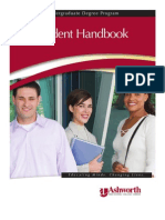 Ash Worth Student Handbook