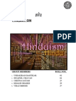 Prjt on Hinduism