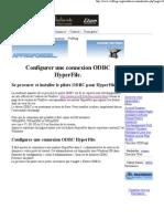 Connexion ODBC