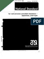 Ansi-C29.9-1983 Post Type Insulator