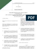 Alimentos para Animais - Legislacao Europeia - 2012/02 - Reg nº 93 - QUALI.PT