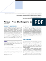 Airbus Case From Challenger to Leader