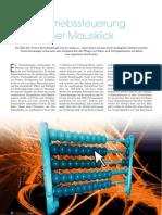 Vertriebssteuerung per Mausklick, Artikel in der First Class 1-2/2012