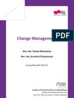 Change Management 2012