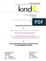 Construction Phase Plan Church Field Primary School