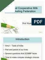 Gujarat Cooperative Milk Marketing Federation Case Study