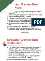 Micro Credit - Bangladesh Grameen Bank