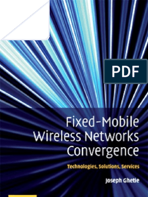 Fixed Wireless Convergence | Ip Multimedia Subsystem