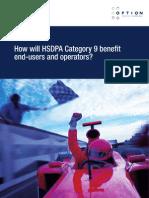 Option White Paper - HSDPA 9