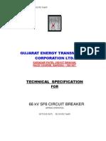 66 Kv Circuit Breaker