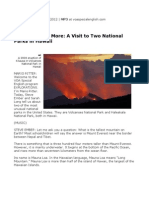 Se Exp Hawaii National Parks