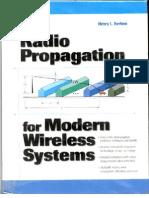 Radio Propagation for Modern Wireless Systems 0130263737