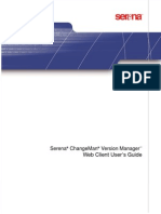 ChangeMan VersionManager - WebClientUsersGuide