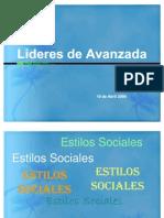 Estilos Sociales Azul