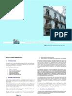 Regulaciones urbanísticas CENTRO HABANA