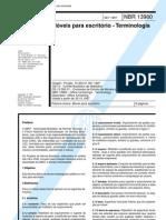 NBR 13960 - Móveis para escritório - Terminologia