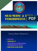 Nilai Murni & Etika PA