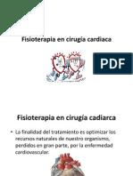Fisioterapia en cirugía cardiaca