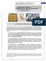 40. CURSO DE EPISTEMOLOGIA