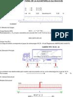 cálculo estructural de alcantarilla