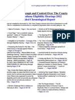 Obamas Contempt and Control Over the Courts - 113pages Prima Facie Evidence