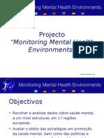 Monitoring Mental Health Environments project summary Portuguese