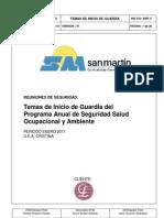 Programa Anual de Seguridad Constructor A San Martin