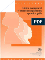 Abortus Guideline