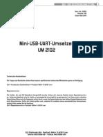 91859 Um2102 v1 Km Um Elv Usb Uart Rs232 Adapter