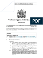 Contracts (Applicable Law) Act 1990