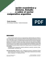 Arzadun (2011) Globalización económica y cooperativismo. Estudio empírico sobre el sector cooperativo argentino