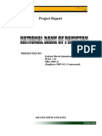NBP Report by Kaleem Murad Baloch