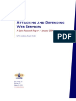 Attacking and Defending WS
