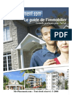 Guide Investissement Immobilier 2008